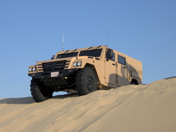 Armored vehicle drive solutions