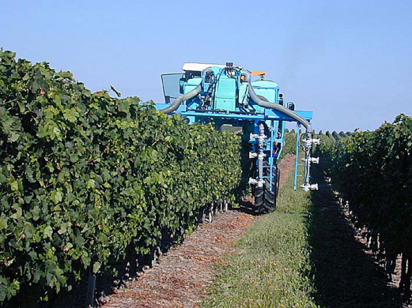 Vineyard Mower Flexonic belt