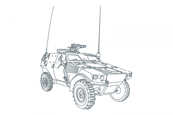 Army Vehicules drive solution