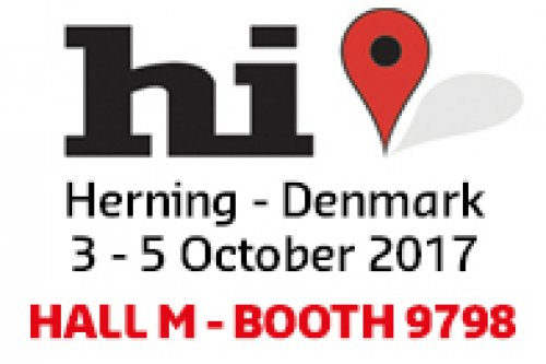 We will be exhibiting for the first time at Hi Denmark 2017