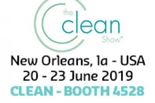 We will be exhibiting for the first time at The Clean Show 2019